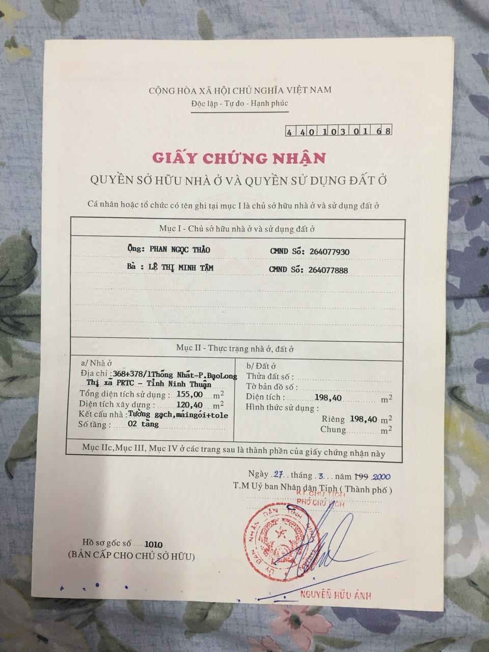 Thuê nhà Phan Rang